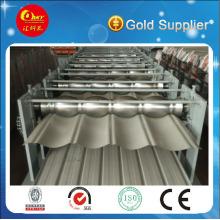 Cubierta de acero y producción de hoja de pared Máquina de doble capa