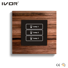 3 Gangs Beleuchtung Schalter Touch Panel (HR1000-WD-L3)