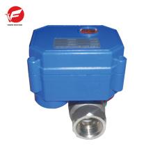 La válvula de control motorizada eléctrica de 12v más duradera motorizada