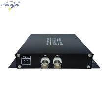 Emetteur-récepteur vidéo optique FC à 2 canaux