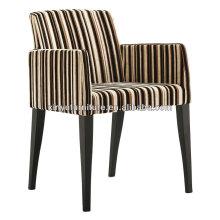 leopard stripe arm chair for restaurant XY2646