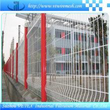 Vetex Steel Fence usado en el distrito