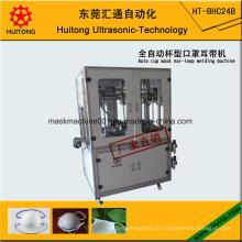 Machine de soudure d'Earloop de masque de tasse de 4 points