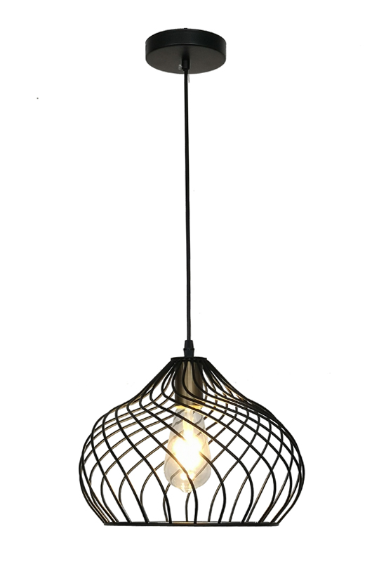 Metal Black Lamp