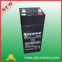 4V 4ah Lead Acid AGM Battery for Flashlight, Toy Car