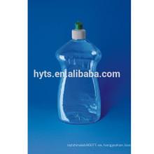 botella de plástico detergente para lavar platos