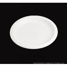 """Round Soft Plastic Party Plate 10"""""""