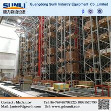 Sistema de armazém automático de fábrica China cremalheira
