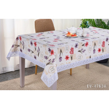 Toalha de mesa EVA / PEVA Toalhas de mesa flores