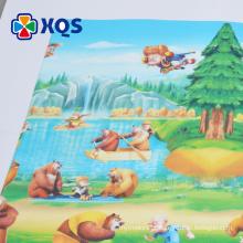 Customizable baixo preço de transferência de calor TPU grandes tapetes de jogo para crianças BPA livre