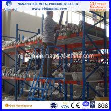 Prateleiras de armazenamento de aço Q235 para rolos de tecido (EBIL-CBHJ)