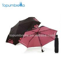 21''8k lady\s folding auto open/close umbrella handle