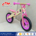 2017 hot sale kids wooden bike/popular wooden balance bike/new fashion wooden bike children balance from Yimei