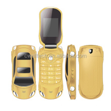 7 Colors Available Mini Small Size Car Shaped and Flip Phone