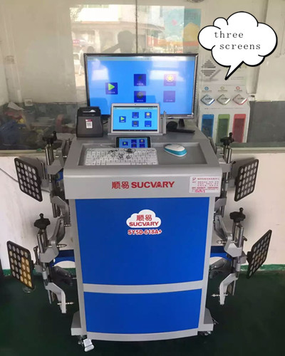 5D Wheel Alignment Machine Producer