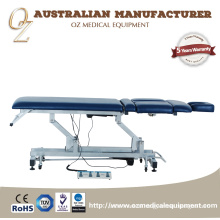 Wholesale Price Blue Clinic Treatment Bed 3 Sections Examining Table Electric Treatment Table