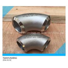 ANSI Seamless Pipe Fittings Cotovelo de aço inoxidável