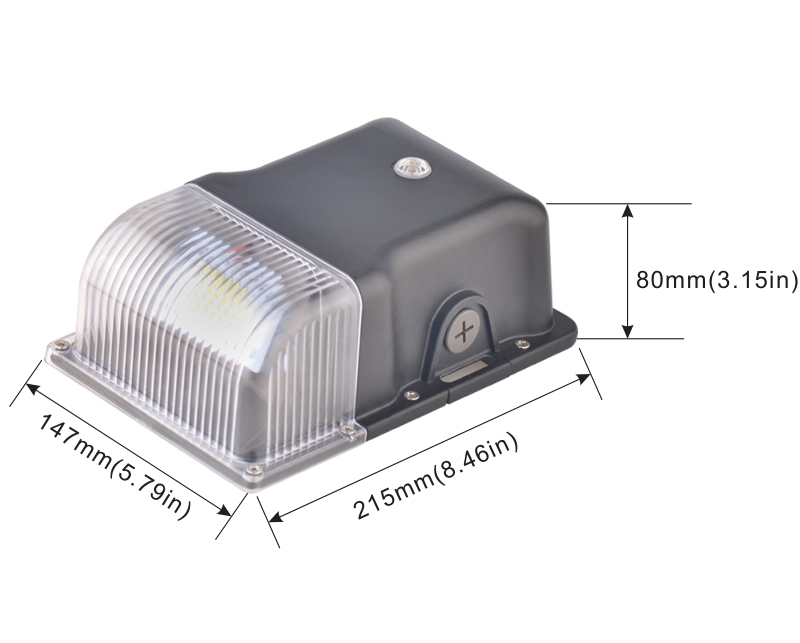 Led Wall Pack With Motion Sensor (1)