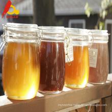 Pure golden royal honey gives energy