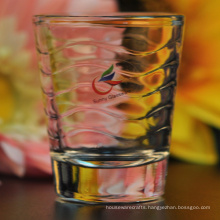 Embossed Screw Thread Shot Glass
