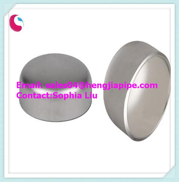 stainless steel A403 WP304/304L butt weld pipe cap
