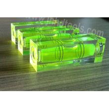 Block square spirit level vial,HD-YT1852