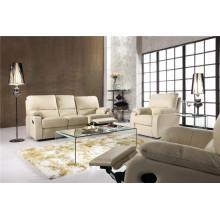 Sofá elétrico reclinável EUA L & P sofá do mecanismo para baixo do sofá (569 #)