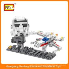 Shantou Spielzeug Fabrik Loz Spielzeug Kunststoff Mini Baustein DIY Spielzeug Pädagogisches Spielzeug für Kind
