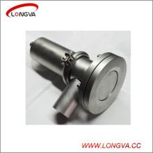Санитарно-Техническим 316 Из Нержавеющей Стали Пневматический Донный Клапан