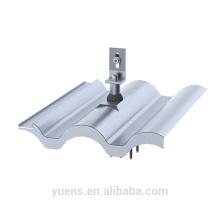 S-forma de panel solar techo de reemplazo de montaje