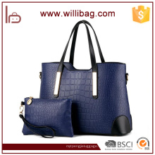 New Trending Handbags 2016 Hot Sell Wallet Conjunto de bolsos de mujer