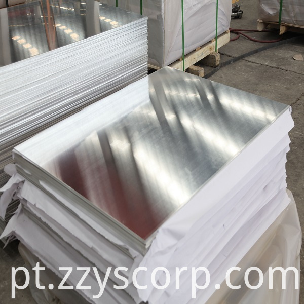 Aluminium Sheet With PVC