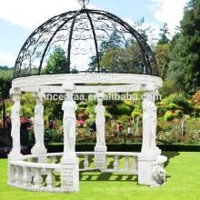 Populärer Dome Gazebo für Verkauf mit kundengebundenem Service GAB-004