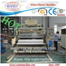 ldpe lldpe wrapping film extruder/ cast film machine/ stretch film making machine