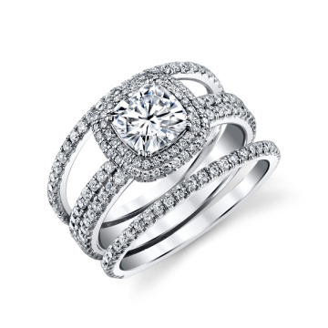 Wedding Jewelry 925 Silver Cubic Zirconia Rings for Women