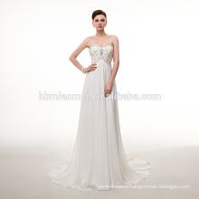 Fashion floor-length bridal wedding dress white color lace sexy wedding dress with spaghetti strap