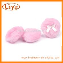 Круглые детские порошок слойка с лентой