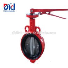 Abschalten Sie Lug Watt Pneumatische Ace-Dämpfer Gusseisen-Wafer-Typ-Schraube Ultraflo-Drosselventil 2 Zoll