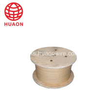 Tunggal Mica Kaca-fiber Mica Tape Dilengkapi Flat Copper Wire