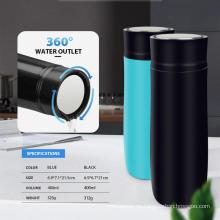 400ml 360° Wasserauslassdeckel Vakuum-Wasserflasche