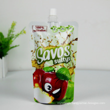 High Quality Aluminum Foil Plastic Bags Juice Drink Liquid Packaging Spout Bag