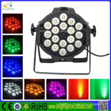 Светодиодный индикатор Par 64 64W Черный 18 x 3 Вт RGB Tri Pro Светодиод Par Can 64