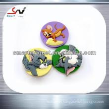 high quality logo shape 3D fridge magnet