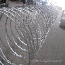 Hochwertige Razor Stacheldraht Metallgitter