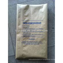 Hexametafosfato de sódio --- Fabricante SHMP