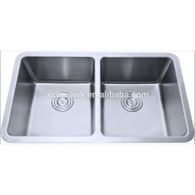 Hotsell double bowl stainless steel sink