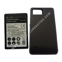 Teléfono celular batería extendida para HTC XT875 con tapa trasera