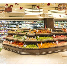Supermarket Rack Shelf Rack Fruit Wood Display Rack (BDS-28)
