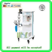 Zero se plaît MSLGA03A machine à ventilateur portable / machine d'anesthésie portative