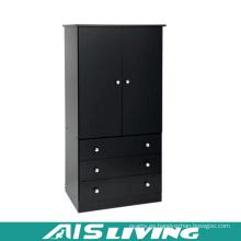 Armario de guardarropa duradero del dormitorio de la madera contrachapada por encargo (AIS-W258)